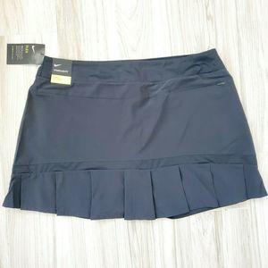 Nike NWT Women XL Dri Core Golf Skort Skirt Black